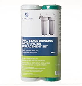 Amazon Com Ge Fxsvc Dual Stage Drinking Water Filtration