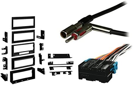 [SCHEMATICS_49CH]  Amazon.com: Compatible with Cadillac DeVille 1988 1989 1990 1991 1992 1992  1993 1994 1995 Single DIN Stereo Harness Radio Install Dash Kit Package:  Car Electronics | 1989 Cadillac Wiring Harness Color Codes In Stereo |  | Amazon.com