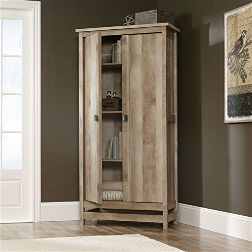 (Cottage Style Wardrobe Armoire Storage Cabinet in Light Oak Wood Finish Wardrobe Armoire Closet Storage Clothes Wood Cabinet Organizer CHOOSEandBUY)