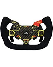 Open Sim Wheel For Thrustmaster T300RS T300GT game racing steering wheel(carbon fiber,suede)