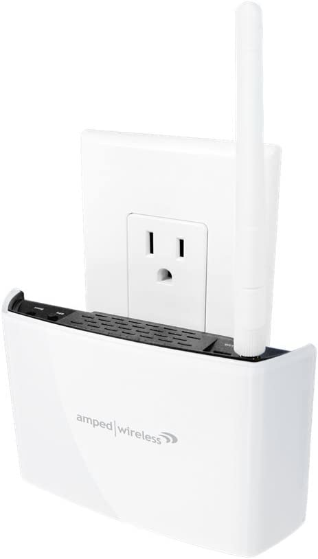 Amped Wireless REC10 High Power 600mW Compact Wifi Range Extender Brand New