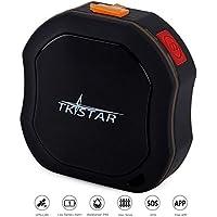 BINDEN Rastreador GPS TK1000 de Uso Rudo para Personas o Vehículo, Perímetro de Seguridad, SOS y Micrófono, Seguimiento en Tiempo Real