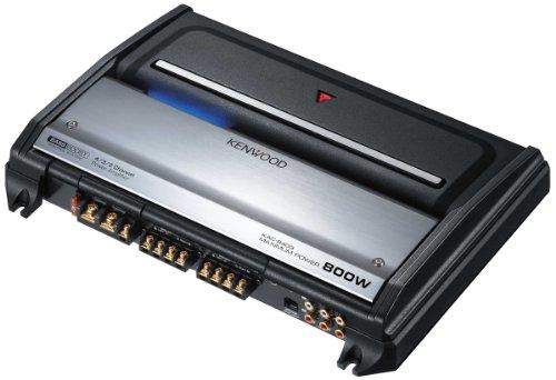 Kenwood KAC-8403 - Amplifier - 4-channel - 200 Watts x 4
