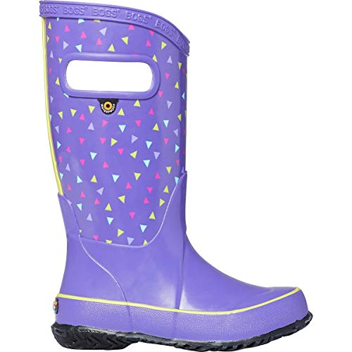 Bogs Kids Baby Girl's Rain Boot Tdots (Toddler/Little Kid/Big Kid) Violet Multi Small -
