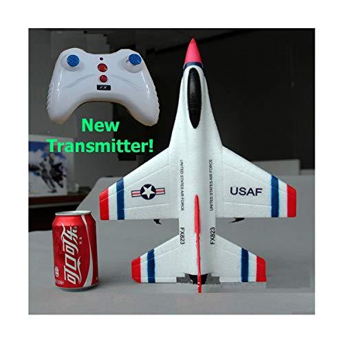 Helicopter Electric Falcon - Mini RC Airplane RTF F-16 Fighting Falcon Radio Remote Control F16 Jet Fighter Kids Toys F 16 Beginner RC Glider