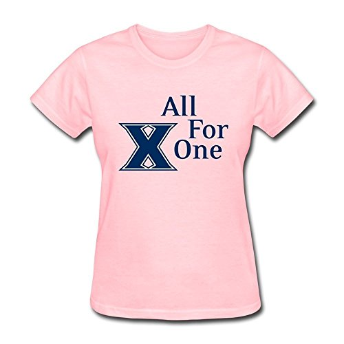 LLangla Women's Xavier Musketeers All For One T Shirt L