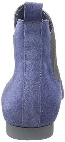 Think Guad, Botas Chelsea para Mujer Azul (jeans/kombi 84)