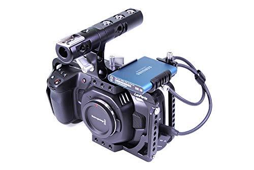 Lanparte BMPCC-4K Blackmagic Design Pocket Cinema Camera 4K Full Camera Cage with Free Samsung SSD Mount
