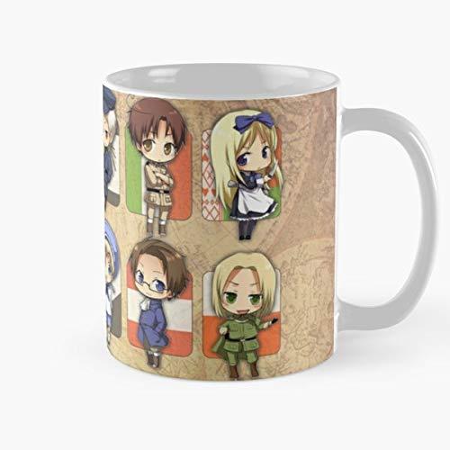 Hetalia Anime Bestes 11 Unze-Keramik-Kaffeetasse Geschenk