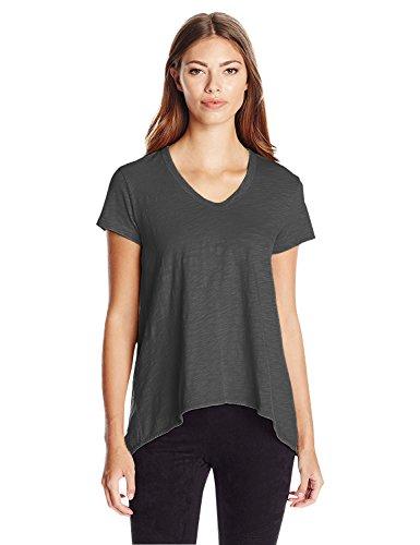 Wilt Leaf (Wilt Women's Short Sleeve Shrunken Boyfriend T-Shirt, Mercury, X-Small)