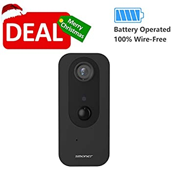 Amazon com : Security Camera Wirefree, SAFEVANT 100% Wirefree IP