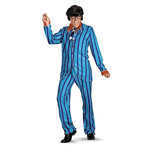Austin Powers Carnaby Suit Deluxe Adult Costume - XX-Large