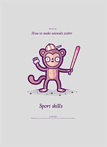 Goose Magnet - How To make Animals Cooler Monkey Sport Skills Funny Randy Otter FRIDGE MAGNET