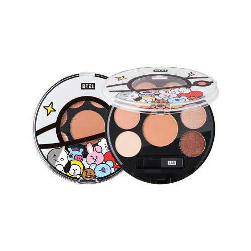 BT21 EYESHADOW PALETTE 2 types Distinct makeup with emotional color mood