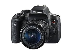 Canon EOS Rebel T6i 24.2 MP SLR Camera Bundle with Premium Accessories