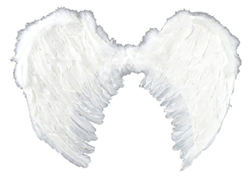 [Touch of Nature 11002 Adult Angel Wing, 22 by 22-Inch] (Angel Wings For Halloween Costumes)