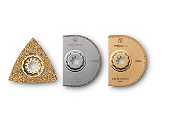 super pas cher garantie de haute qualité Livraison gratuite dans le monde entier Fein 35222942070 Best of Tileworking Coffret de 3 ...