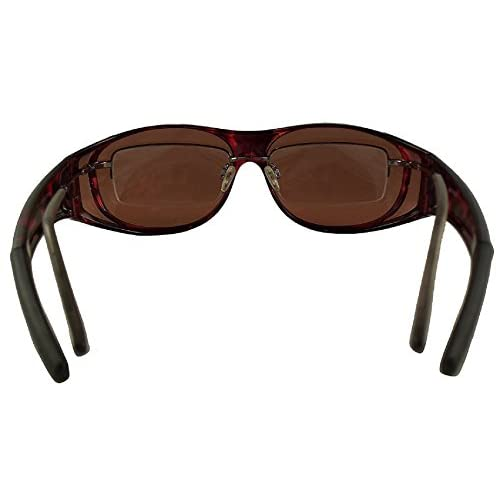 c2525c8622bf Men and Women Unisex Sun Shield Fit Over Sunglasses Polarized - Wear Over Prescription  Glasses -