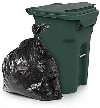 Price comparison product image ToughBag Trash Bags,  65 Gallon,  50 Bags,  Black