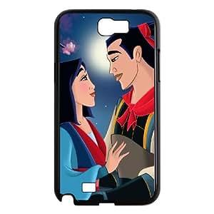 Mulan II Samsung Galaxy N2 7100 Cell Phone Case Black Phone cover J9729883