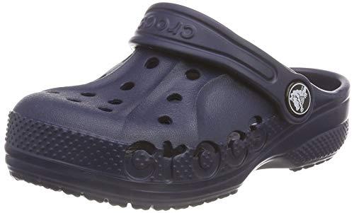 Crocs Baby Baya Clog, Navy, 10 M US Toddler M US Toddler
