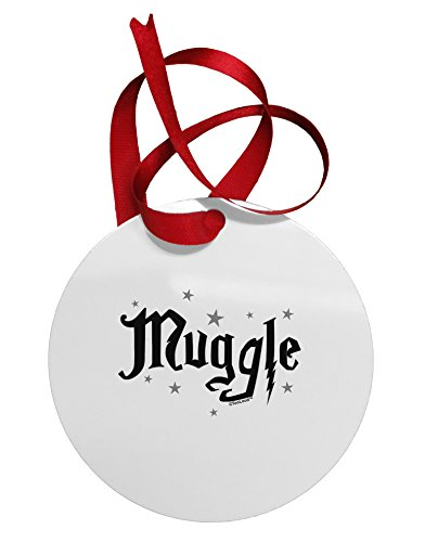 TooLoud Muggle Circular Metal Ornament (For Christmas Sale Phoenix Az Trees)