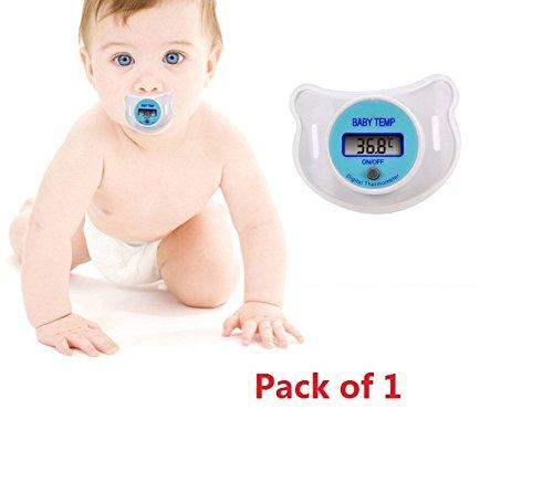 Distinct® Die automatische Digital-Schnuller-Baby-Kleinkinder Oral-Thermometer Packung mit 1