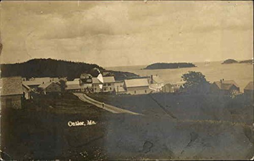 View of Cutler Cutler, Maine Original Vintage Postcard