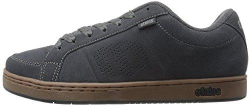 Gum dark 023 Kingpin Black Gris Homme Skateboard De Etnies Chaussures Grey 0nFYv66