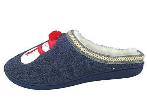 SaneShoppe Zapatillas Bajas Hombre, Color Azul, Talla 41 EU