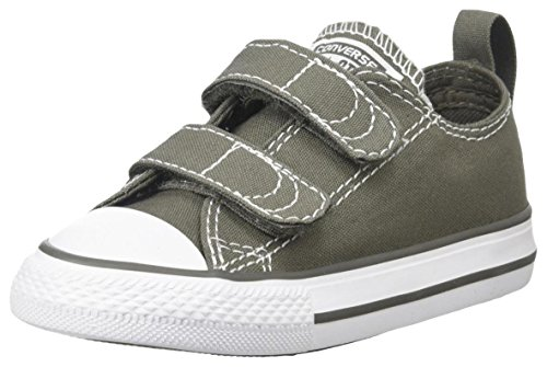 Converse Boy's Chuck Taylor All Star 2V Infant/Toddler - Charcoal - 6 M US Toddler