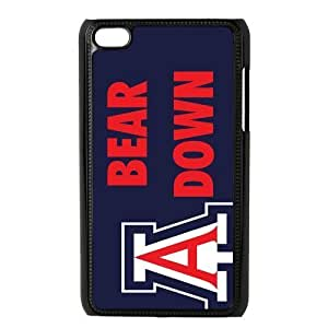 Customize NCAA Basketball Team Arizona Wildcats Back Cover Case for ipod Touch 4 Kimberly Kurzendoerfer