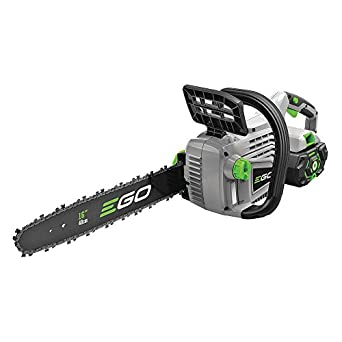 Chain Saw, 56V, Bar 16 in. L, w/Battery, 5Ah