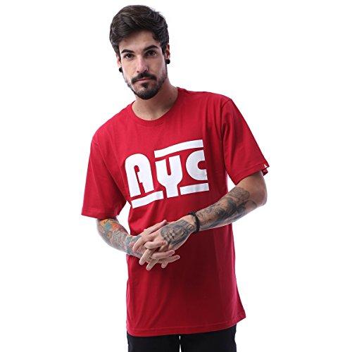 Camiseta Asphalt Ayc Double Stripe - Vermelho - Gg