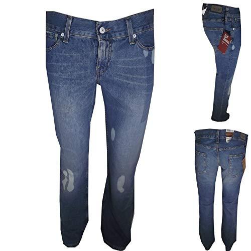 Fit Bassa Square Flare Gamba Donna Denim 557 Eve W31l34 Levis Stright Dritta Cut Vita Jeans CqHpaC