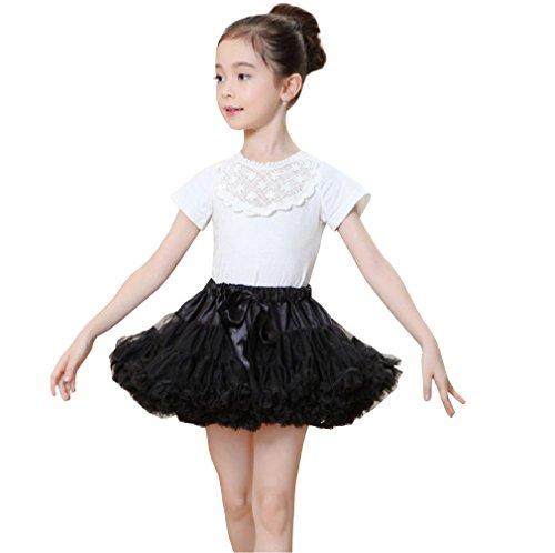Girls Kids Tutu Skirt Birthday Party Costume Ballet Tulle Tutu Dress 5-7 Years