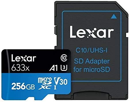 Amazon.com: Lexar 256 GB UHS-I, clase 10 de alto rendimiento ...