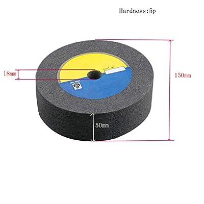 Kehuashina 150/200/250/300x50x18mm Metal polishing wheel 5/7/9p/12p Non woven abrasive wheel Nylon Fiber polishing wheel Abrasive disc
