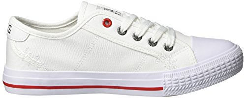 HIS 151-020, Basses Femme Weiß (White/Red)