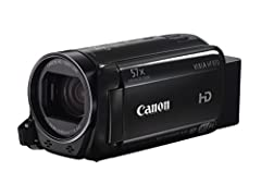 Canon VIXIA HF R70 Camcorder 57x (32.5-1853mm) Advanced Zoom and Super Range Optical Image Stabilizer 3.28 Megapixel Full HD CMOS Image Sensor DIGIC DV 4 Image Processor captures video at 1920 x 1080 Record up to 6 hours of video to a 16GB in...