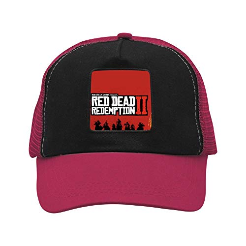 Price comparison product image Red Dead Two Red Emptions Unisex Double-Breasted Adjustable Adult Basketball Hats Fashion Caps