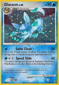 Pokemon - Glaceon (5) - Majestic Dawn - Reverse Holo ()