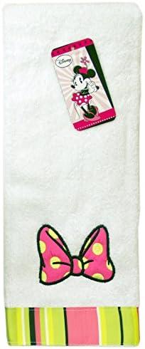 Disney Rideau de Douche Mickey Mouse et Minnie Mouse en Tissu 177,8/x 182,9/cm