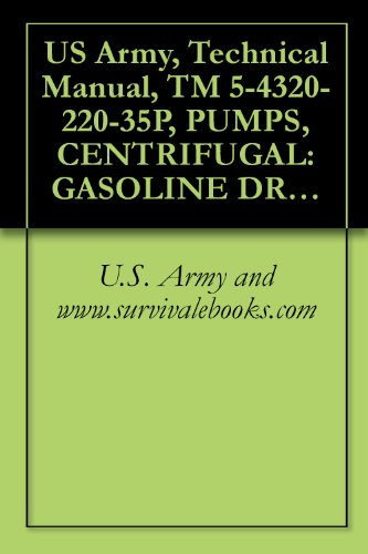 US Army, Technical Manual, TM 5-4320-220-35P, PUMPS, CENTRIFUGAL: GASOLINE DRIVEN, BASE M 2-INCH, 166 GPM, 25-FEET HEAD, (BARNES MODEL 10-MG), military manauals, special forces