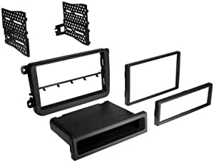 Carxtc Stereo Install Double Din or Single Din Dash Kit Fits VW Passat 2006-2018