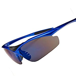 Flank Outdoor Cycling Glasses Bike Bicycle Sunglasses Polarized Sunglasses Eyewear (F)