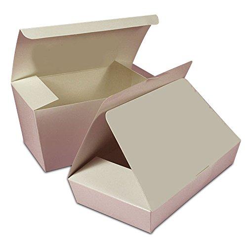 White Ballotin Candy Box | Quantity: 50 | Width: 2 5/16