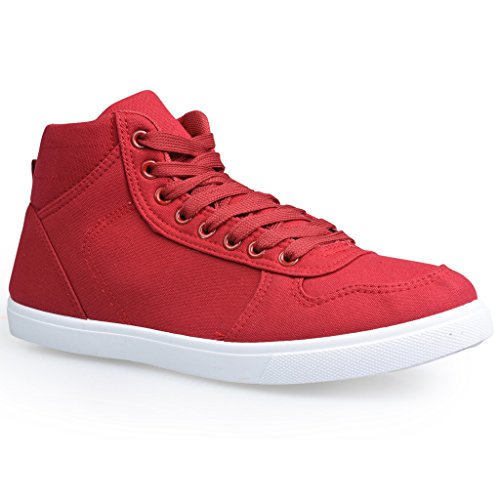 influence-mens-seb-high-top-fashion-sneakers-red-size-9