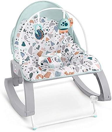 Asiento para bebés convertible para dar de comer, jugar o calmar a bebés y niños pequeños (hasta.18