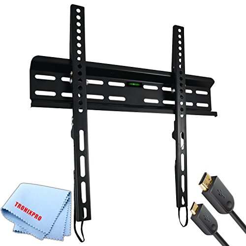 Tilting Ultra Slim Flat Screen TV Wall Mount for 23